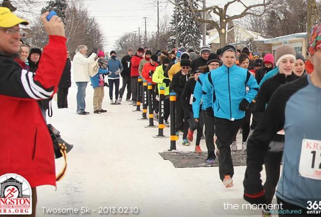 The race starts at Winston Churchill Public School, at the corner of Earl and MacDonnell streets. Photo credit: Robby Breadner