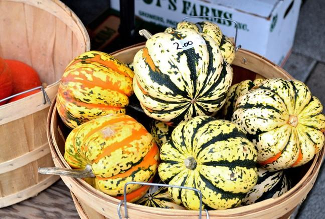 Farmer markets are a great source for fresh local produce for Kingston restaurants.