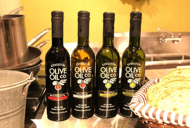 Some-of-Kingston-Olive-Oil-Company's-offerings-that-were-used-during-the-cooking-demonstration