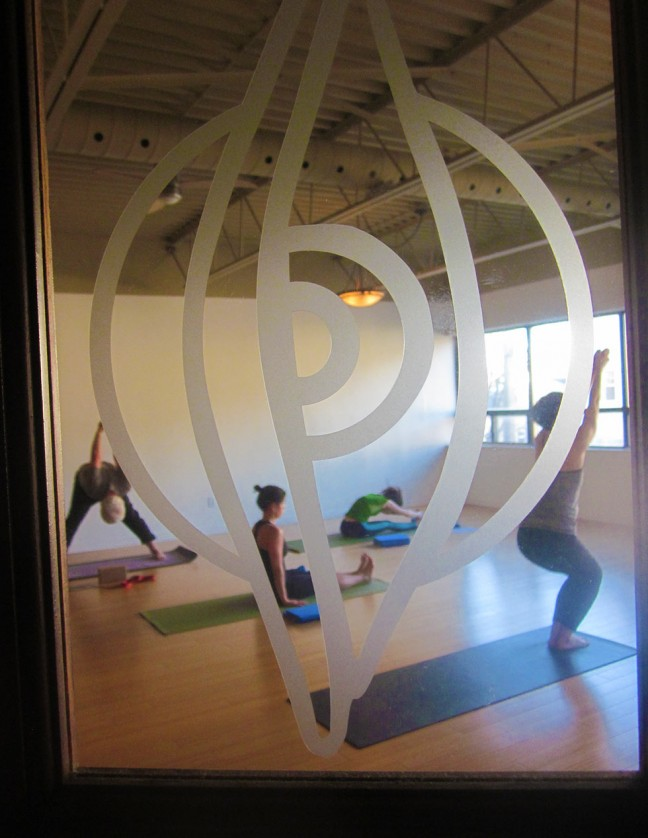 Open Eye studio offers a serene atmosphere for yoga practice.