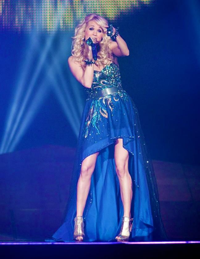 Carrie Underwood brought down the house during her performance at Rogers K-Rock Centre!