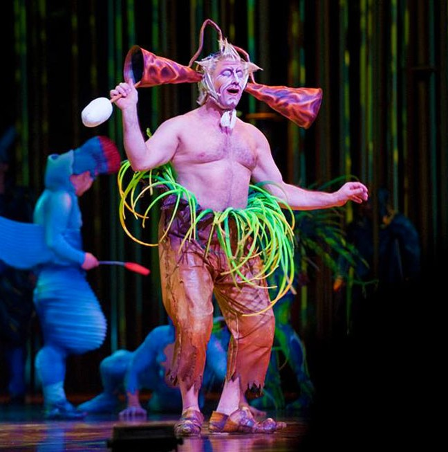 Cirque du Soleil's Varekai was an amazing experience!