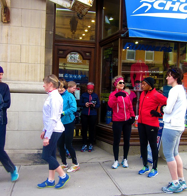 Thursday night is Women's Night at Runners Choice.