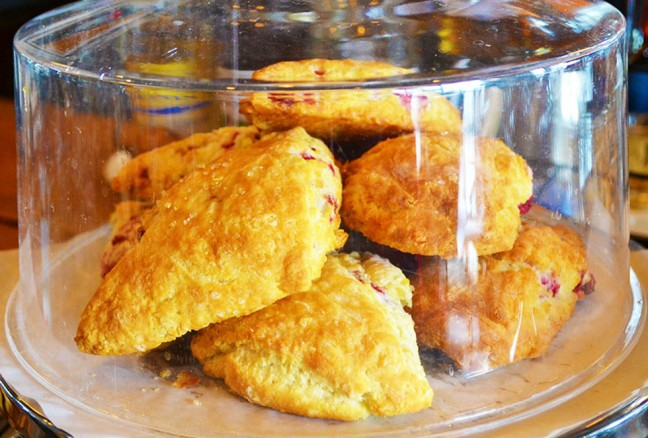 Fresh made scones – a must try!