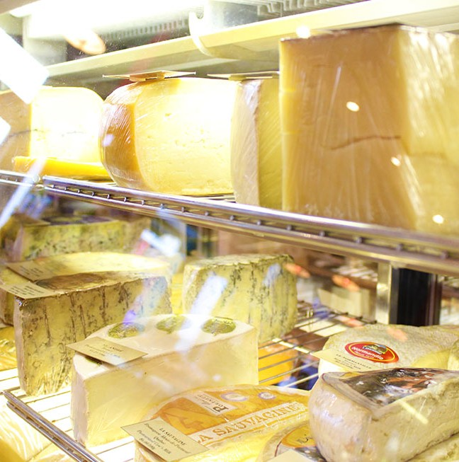 Pan Chancho is a cheese-lovers paradise, with cheeses sourced from Prince Edward County