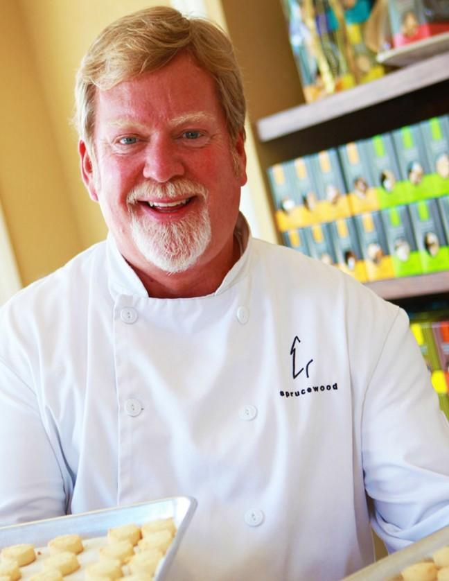 Chef Mark Pollard of Sprucewood Cookies will be at Artfest with shortbread so fresh it'll melt in your mouth. (photo courtesy of Lory MacDonald