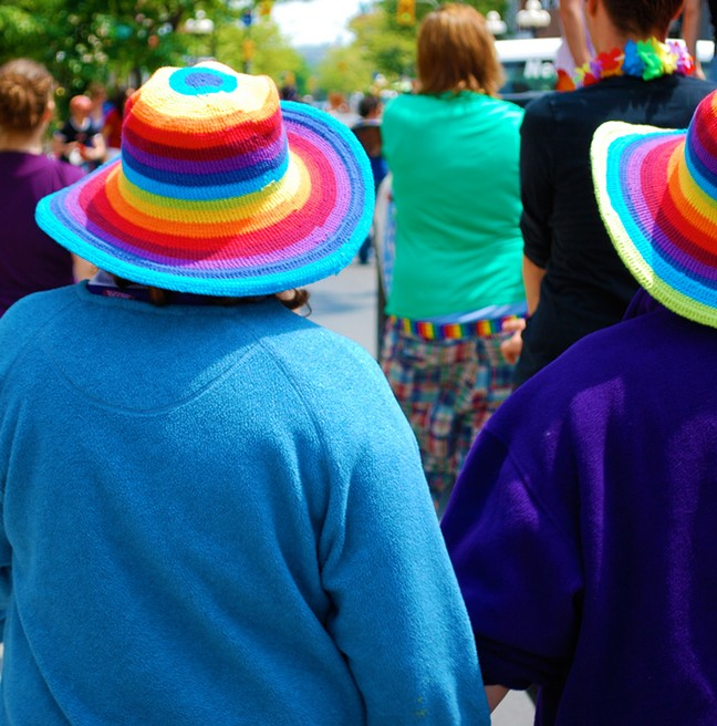 Get out that colourful clothing and hit the streets for Kingston's Pride Parade on Sunday, June 15th. (photo courtesy of Christopher_Canning)
