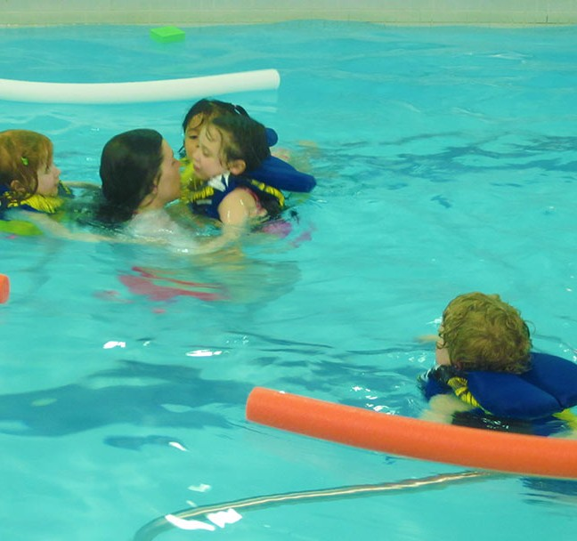 Aquatics is very popular at Wright Crescent. Currently 1,400 children per week participate in swimming lessons.