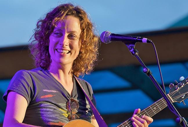 Sarah Harmer hangs up her guitar on Friday evening to moderate a discussion on how we can become better stewards of the planet. (photo: Flickr Creative Commons)