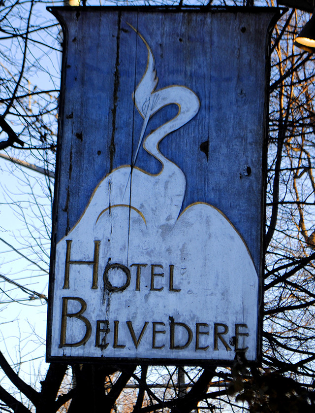 "In the 1940's, Vogue Magazine described Hotel Belvedere as ""the only reasonable place to stay between Montreal & Toronto"""