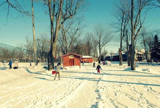 Hockey sticks, shovels & skates… oh my!