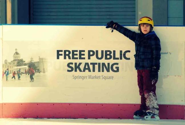 Free Skating at market Square!