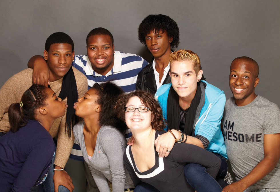 The Year We Thought About Love is a documentary that goes behind the scenes of one of the oldest queer youth theatres in America (Feb. 2, 7 pm). Photo: Reelout