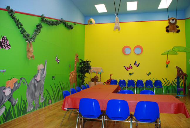 Family movie nights during March Break in the Jungle Room, or book for a Birthday Party throughout the year!