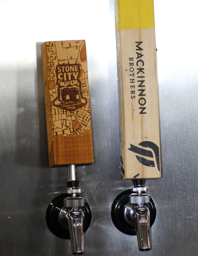 This offering too! Local brews
