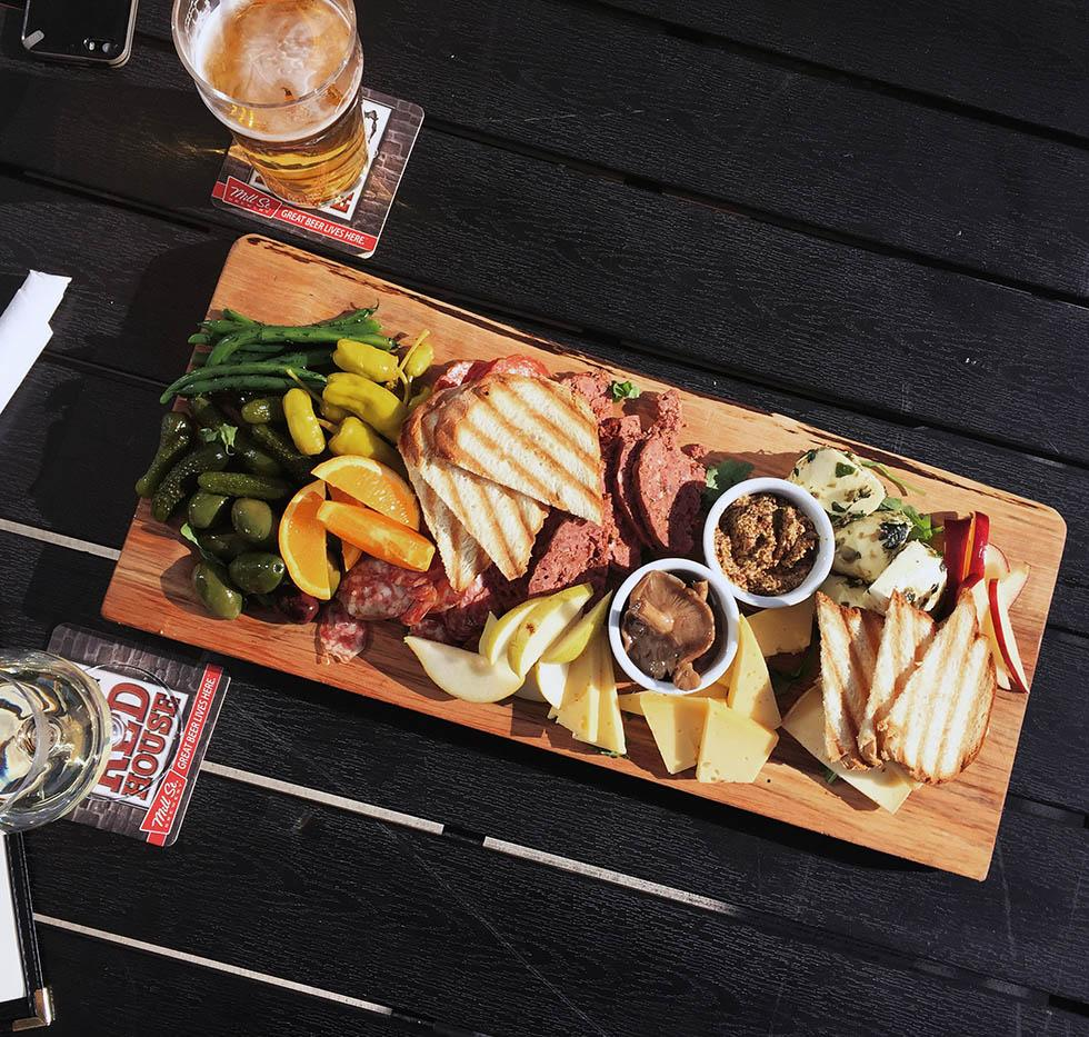 Charcuterie Board courtesy of Red House.