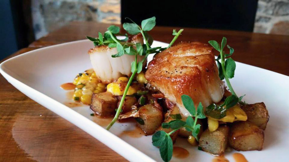 Tango's legendary scallops – a must try when you're in town next.