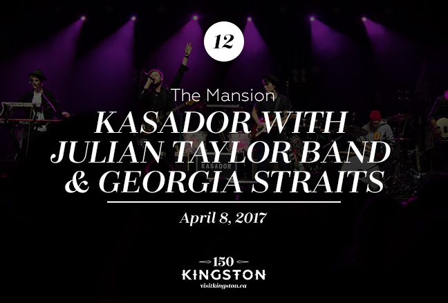 Event: Kasador with Julian Taylor Band & Georgia Straits at The Mansion Date: April 8, 2017
