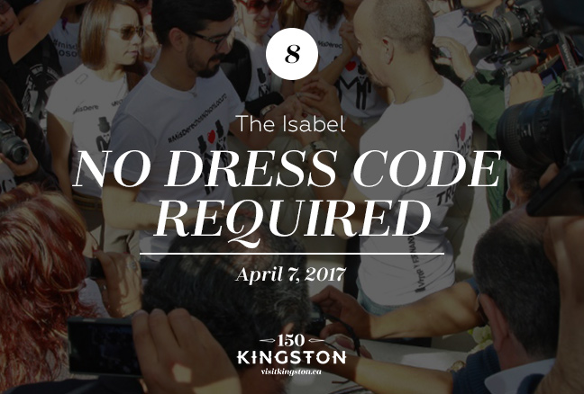 Event: No Dress Code Required at The Isabel Date: April 7, 2017