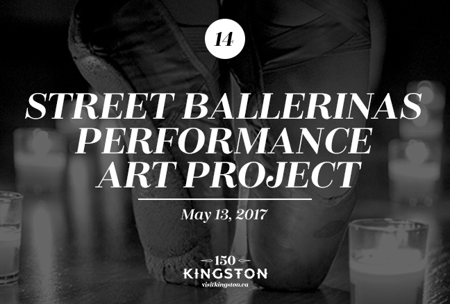 Event: Street Ballerinas Performance Art Project Date: May 13, 2017