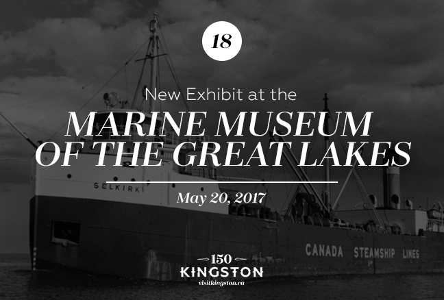 Event: New Exhibit at the Marine Museum of The Great Lakes Date: May 20, 2017