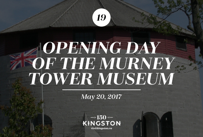 Event: Opening Day of the Murney Tower Museum Date: May 20, 2017