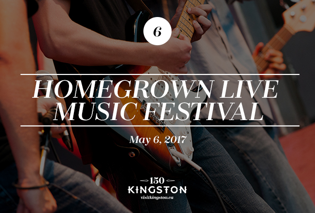 Event: Homegrown Live Music Festival Date: May 6, 2017
