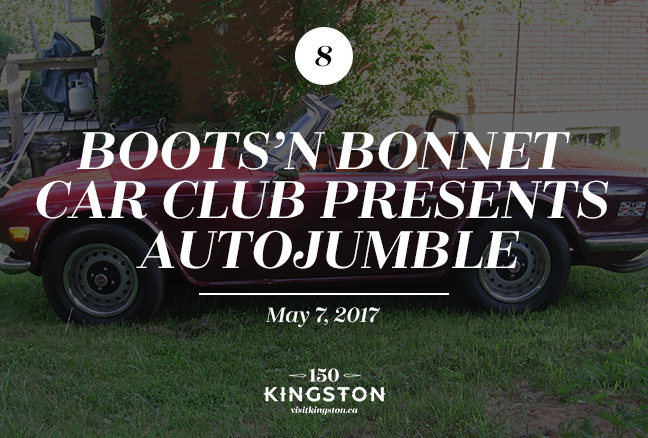 Event: Boots'n Bonnet Car Club Presents Autojumble Date: May 7, 2017
