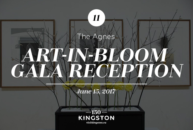 Art-in-Bloom Gala Reception - The Agnes - June 15