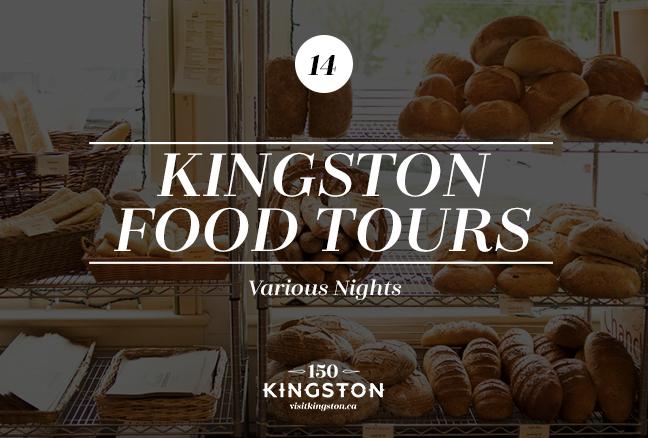 Kingston Food Tours - Various nights