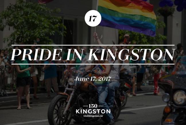 Pride in Kingston - June 17