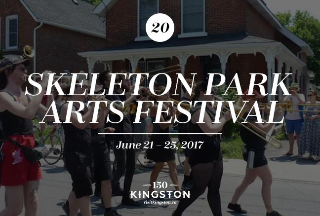 Skeleton Park Arts Festival - June 21-25