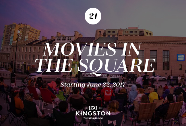 Movies in the Square - Starting June 22