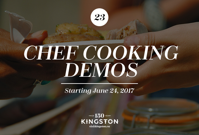 Chef Cooking Demos - Starting June 24
