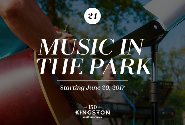 Music in the Park: Starting June 20