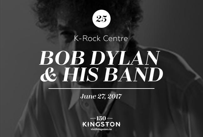 Bob Dylan & His Band - June 27 @ K-Rock Centre