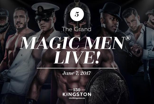 Magic Men® Live! - The Grand - June 7