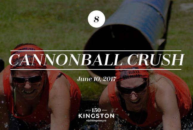 Cannonball Crush - June 10, 2017