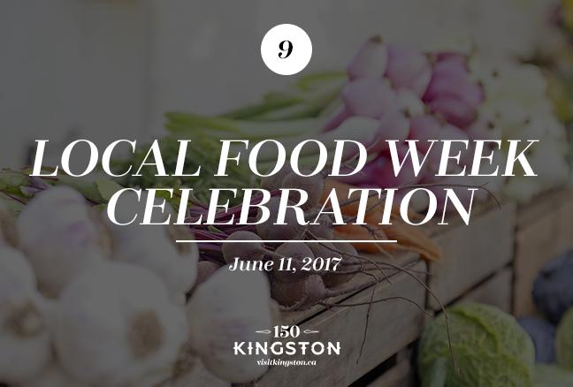Local Food Week Celebration - June 11