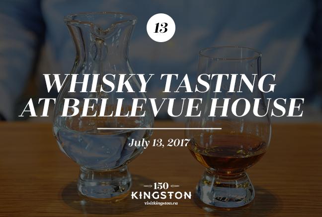 Whisky Tasting at Bellevue House - July 13