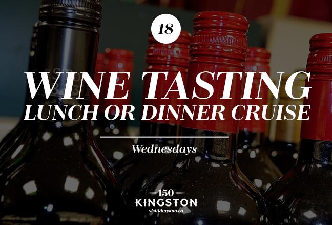 Wine Tasting Lunch or Dinner Cruise - Wednesdays