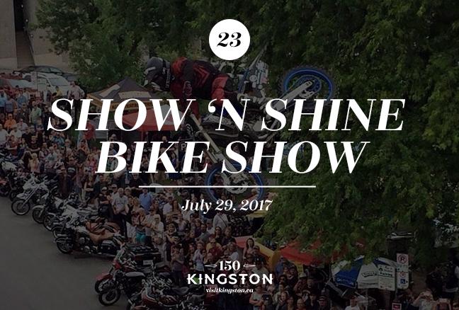 Show 'n Shine Bike Show - July 29