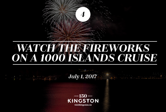 Watch the Fireworks on a 1000 Islands Cruise - July 1