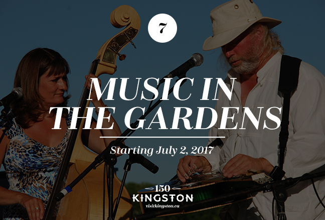 Music in the Gardens - Starting July 2