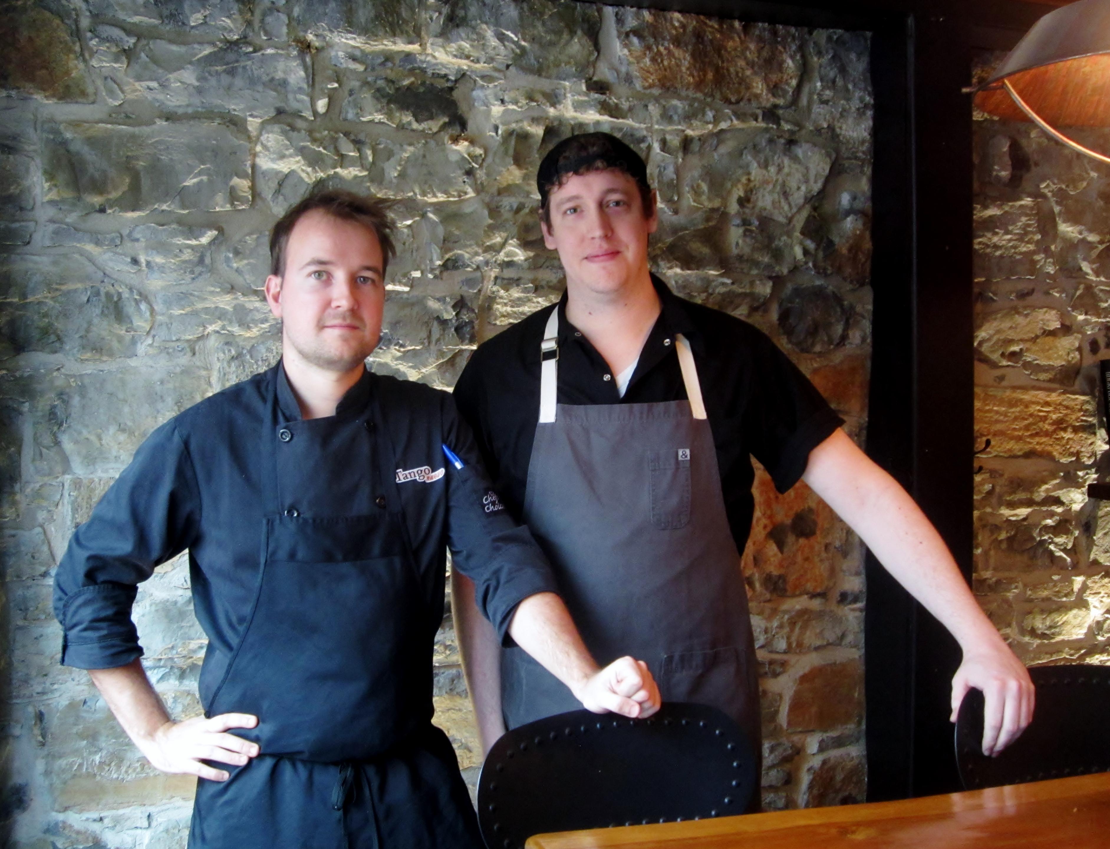 Chef Daniel Cholewa and Chef Andrew Smyth: It Takes Two to Tango Nuevo