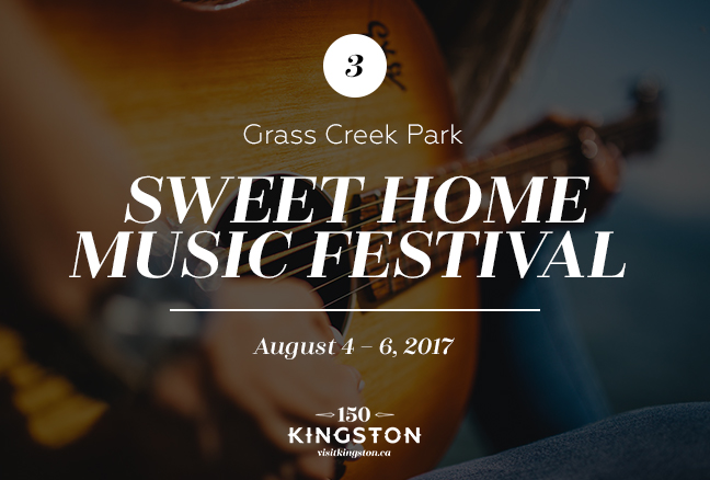 Sweet Home Music Festival - August 4-6 - Grass Creek Park