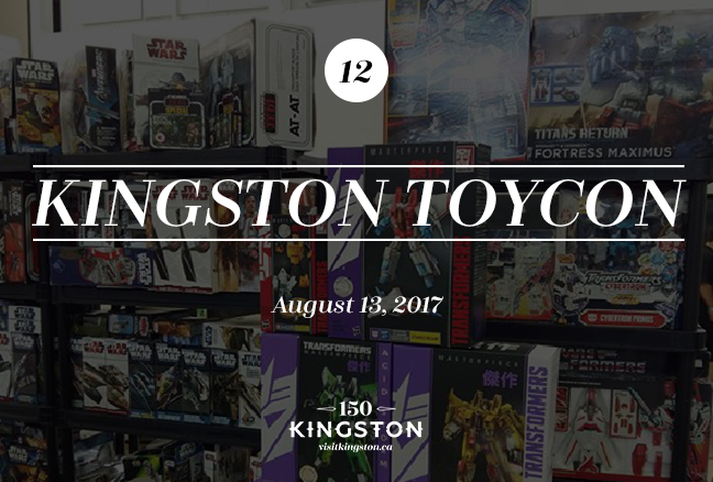 Kingston ToyCon - August 13