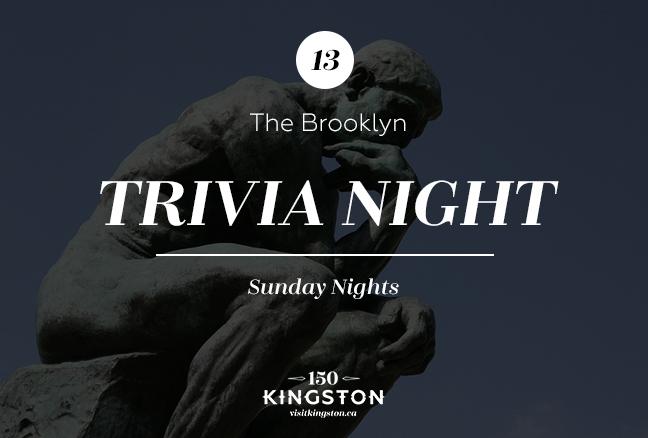 Trivia Night at the Brooklyn - Sunday Nights