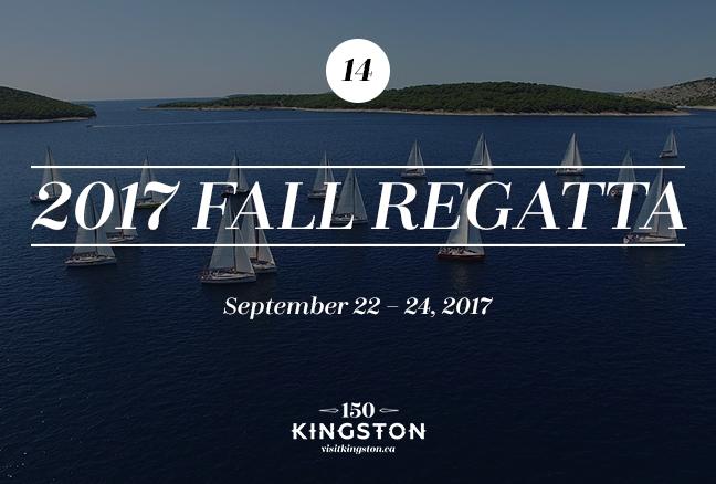 2017 Fall Regatta - September 22-24