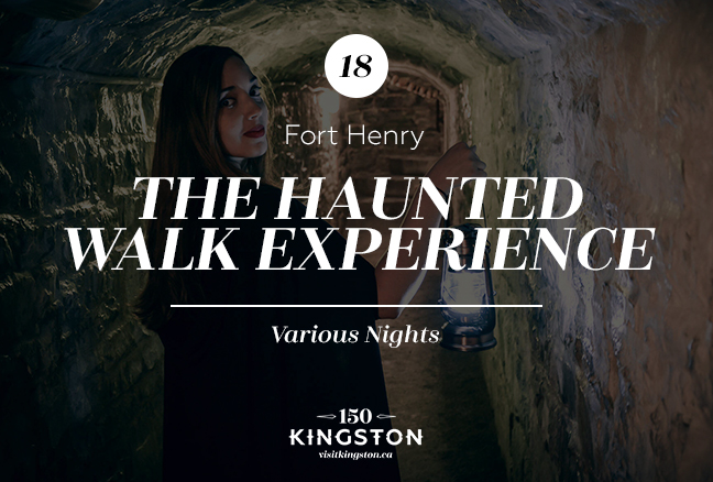 The Haunted Walk Experience at Fort Henry - Various Nights
